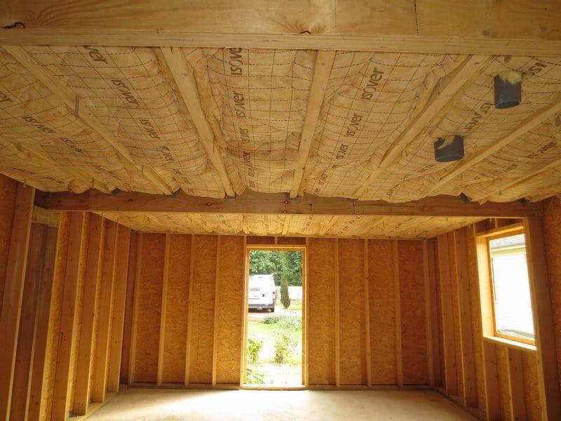 extension bois vue isolation avant membrane