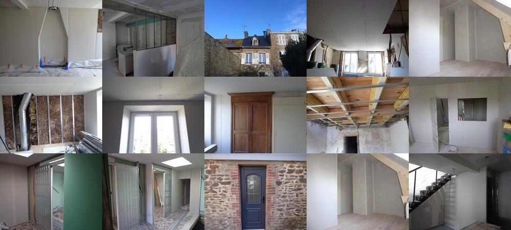Rénovation complète maison