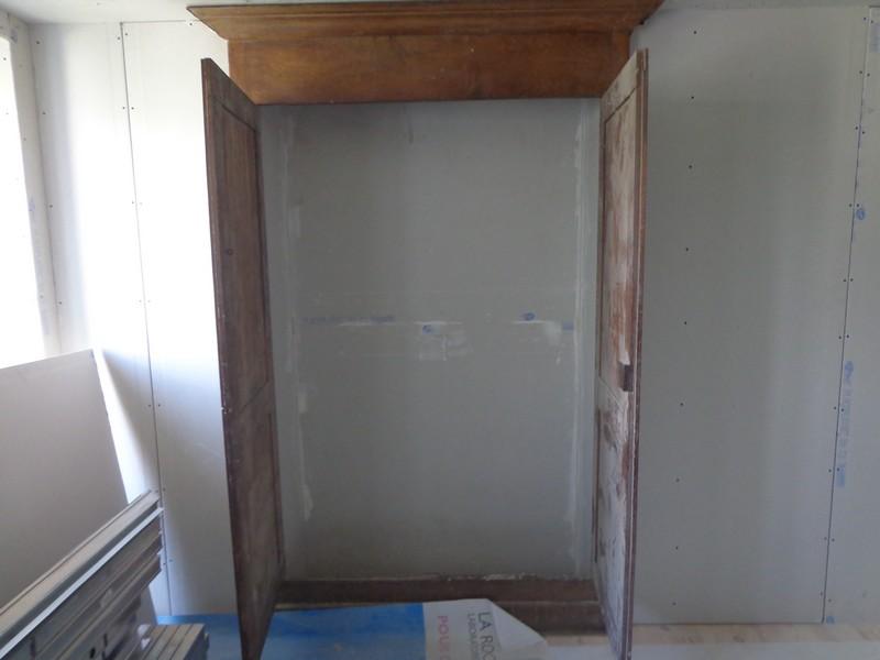 facade armoire habillage intérieur placo