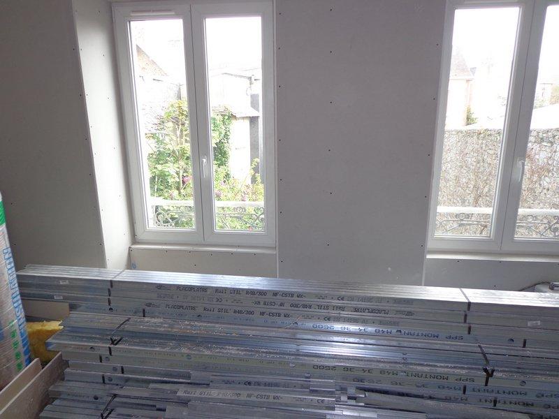habillage éveils fenêtres PVC pose ébrasement
