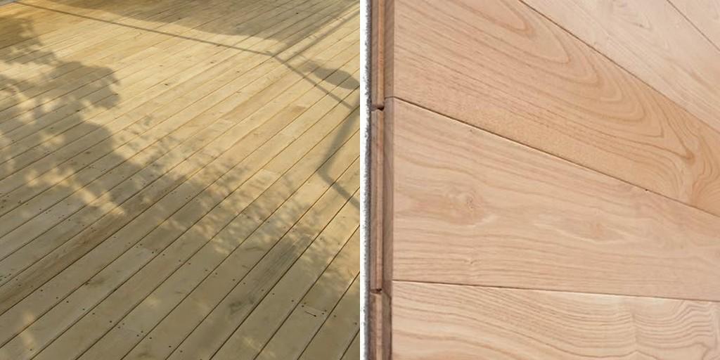 Le châtaignier, un bois de terrasse ?