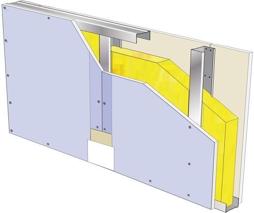 modele cloison système placo