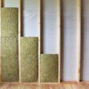 Isolation mur montant en bois