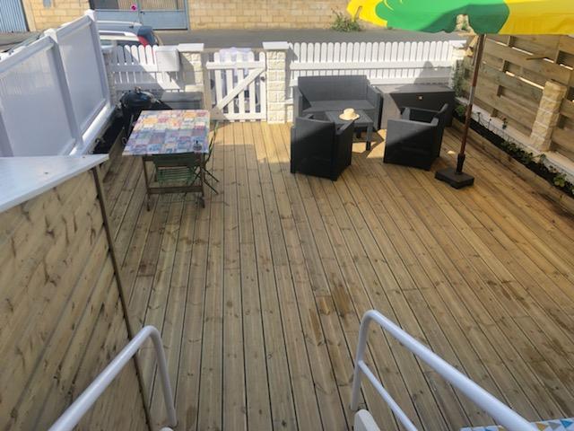 Terrasse en bois Dives sur Mer