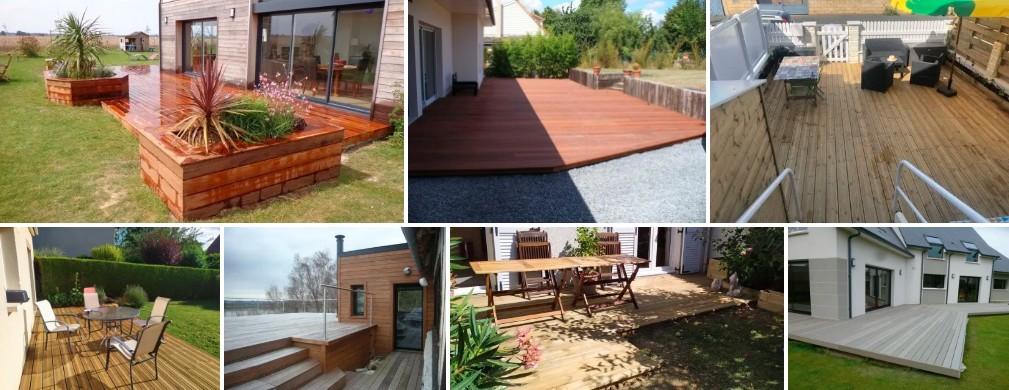 Réalisations de terrasses en bois