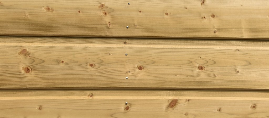 bardage extérieur bois naturel